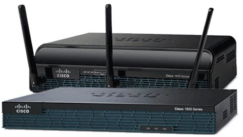 Sheets Comparison by Routers Cisco 1900 Series Integrated Services Routers