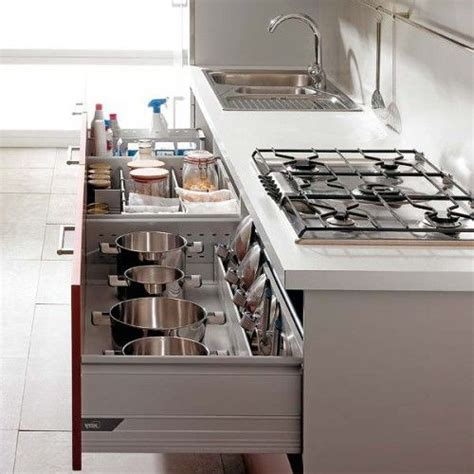 Pull Out Drawers For Kitchen by Pull Out Kitchen Drawers And Shelves Cocinas