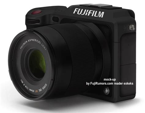 medium format fuji new medium format plus kit lens will cost just
