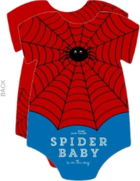 Spider Baby Shower Theme by Boy Baby Shower Invitations