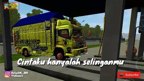status wa pendek untul pecinta truck youtube