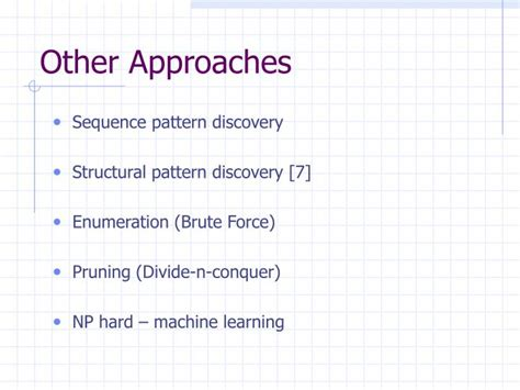 sequential pattern discovery adalah ppt pattern recognition powerpoint presentation id 1140647