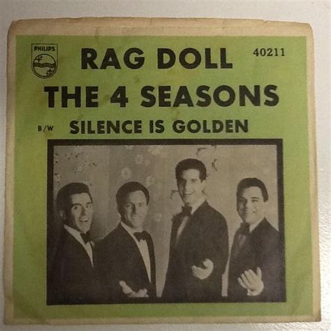rag doll four seasons the 4 seasons rag doll 45 s and their picture sleeves