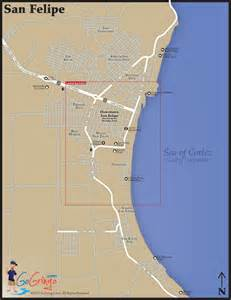 san felipe map and driving directions to san felipe go