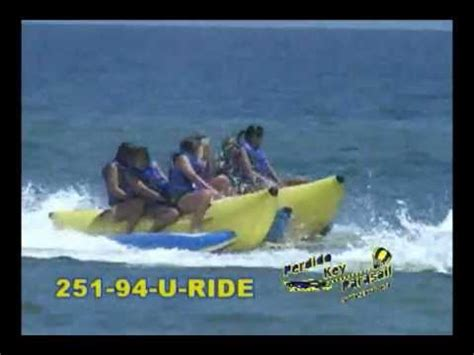 banana boat ride destin fl banana boat rides and parasailing gulf shores al and