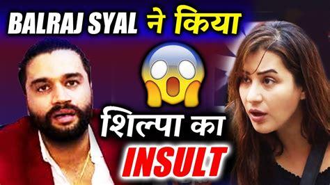 Syal Musik Not balraj syal insults shilpa shinde on winning bigg 11