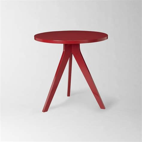 West Elm Tripod Table by Side Table Interior Design By Room Fu Knockout