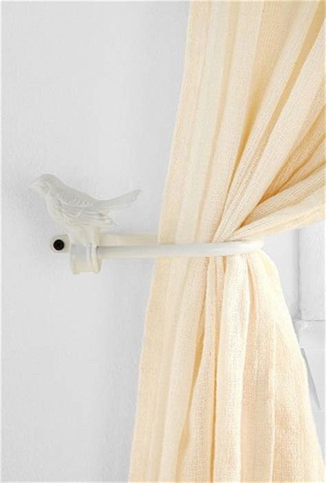 modern curtain tie backs birdie curtain tie back contemporary window treatment