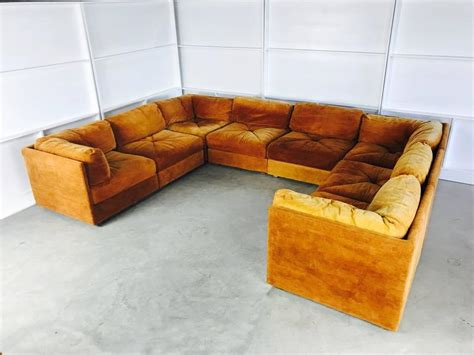 Pit Sectional Sofas by Ten Sectional Sofa Pit In The Style Milo Baughman By