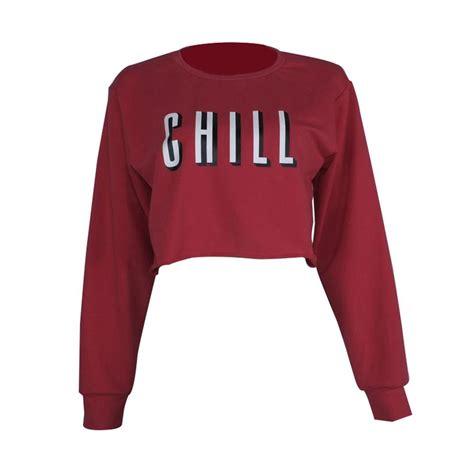 Sweater Hoodie Top sleeve hoodie sweatshirt sweater casual crop top coat pullover tops ebay