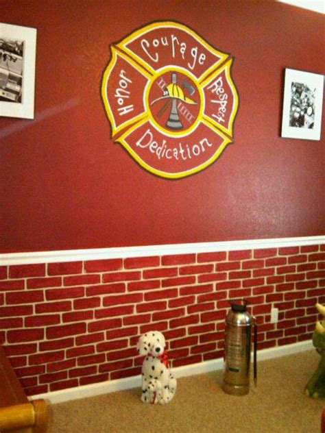 firefighter room like the brick pattern on the bottom of