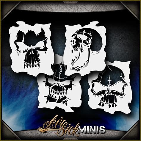 pattern airbrush skull template airbrush www imgkid com the image kid