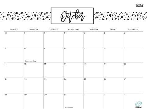 printable calendar 2018 imom pretty patterns 2018 printable calendar imom