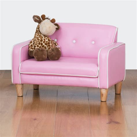 Kid Sofa by El Nino Sofa Bubblegum Pink Sofas