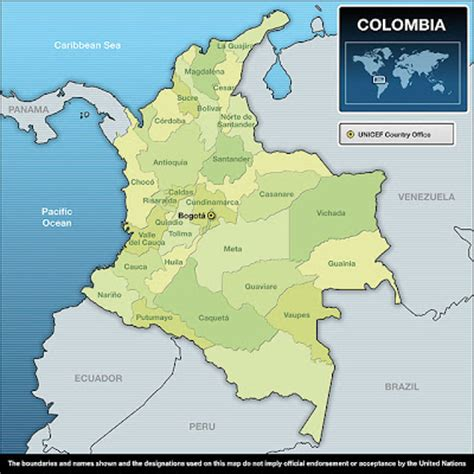 colombia map of the world colombia is amazing
