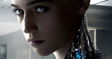 alicia vikander robot movie meet ava the android in first ex machina clip