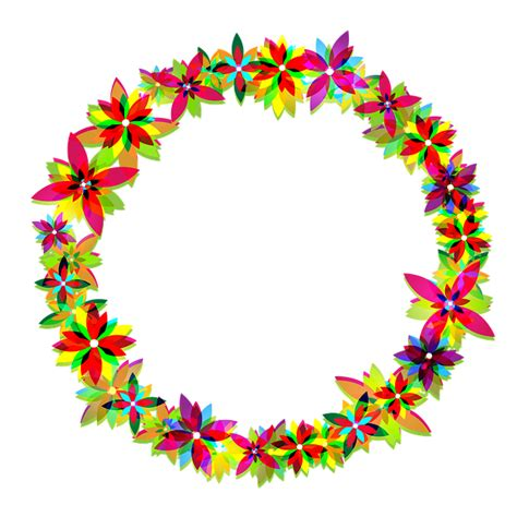 flowers wreath floral free image on pixabay free illustration flowers wreath frame circle free