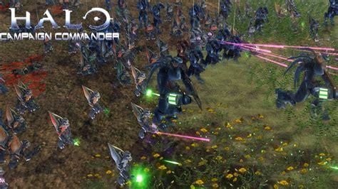 halo attack covenant attacks halo caign commander wars