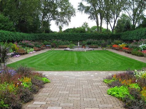 Rotary Botanical Gardens by Sunken Garden Rotary Botanical Gardens