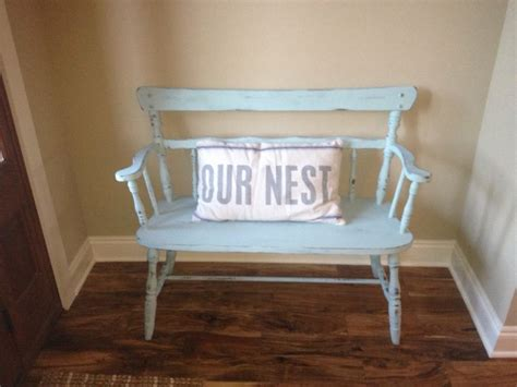 chalk paint bench chalk paint bench craftiness pinterest