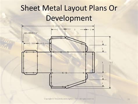sheet metal layout video copyright 169 texas education agency all rights reserved