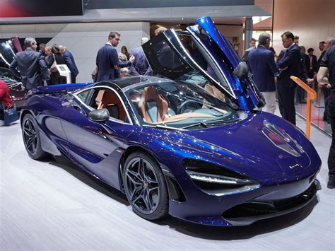 Mclaren 720s Blue by This Atlantic Blue Mclaren 720s By Mso Is A Showstopper