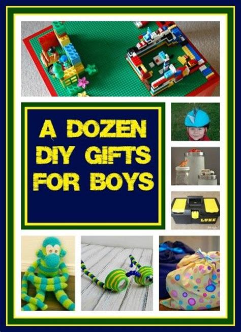 countdown to christmas dozen diy gift ideas for boys
