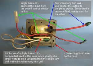 how to make a piezoelectric speaker