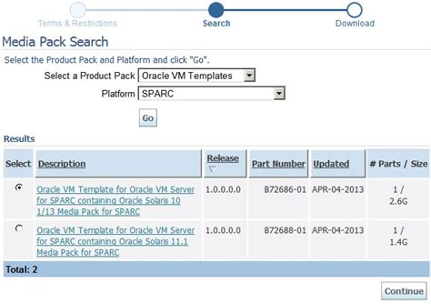 download oracle vm templates oracle vm templates now available on sparc platforms