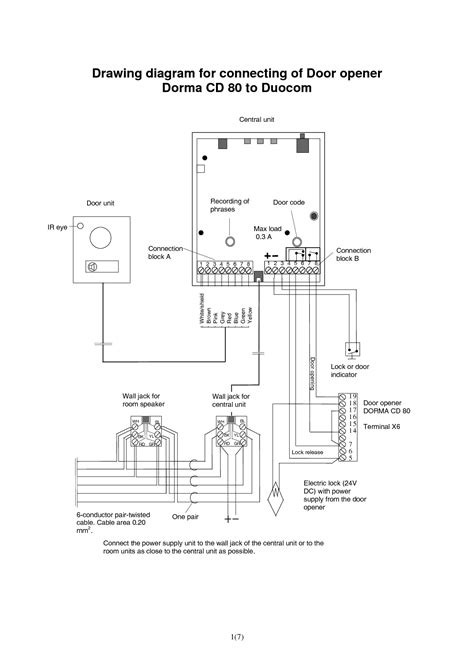 garage door opener wiring diagram dejual