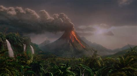 the mysterious island journey 2 the mysterious island volcano snapikk com