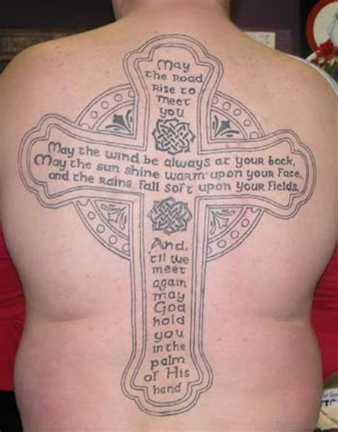 crosses on back tattoos 80 stylish cross tattoos on back