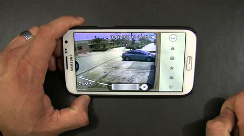 Cctv Android how to connect to a dvr using an android phone