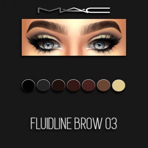 sims 4 mac wann mac cosimetics fluidline brow 03 sims 4 downloads