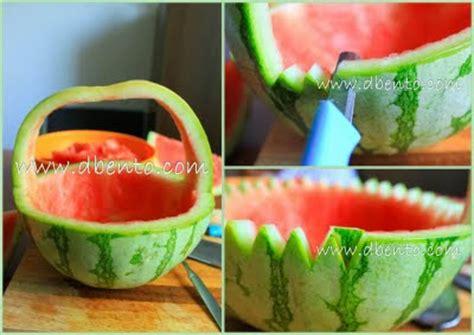 cara membuat es buah dari semangka blog cook blog cara membuat keranjang semangka