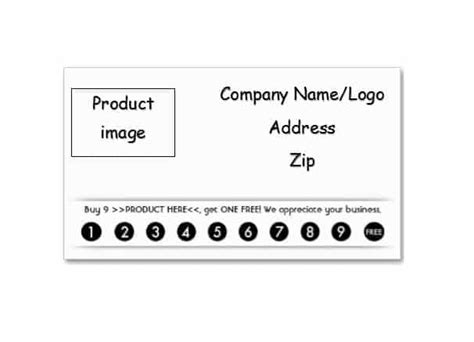 blank punch card templates punch card template free business punch card template