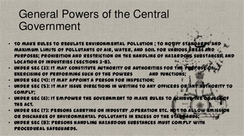 the ottoman central government appointed officials called environment protection act 1986