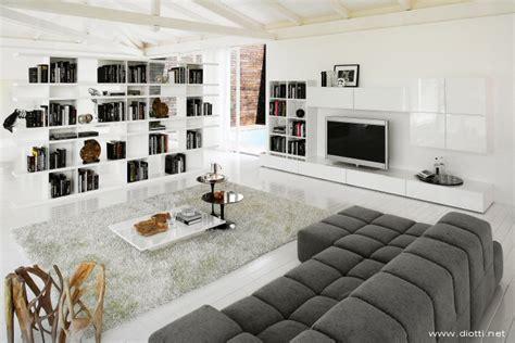 librerie salotto libreria bifacciale diotti a f arredamenti
