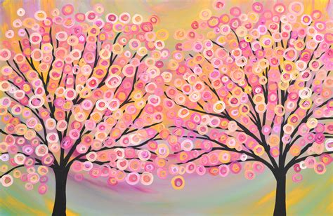Paving Ideas For Backyards Abstract Tree Landscape Oil Paintingtree Scenery Canvas