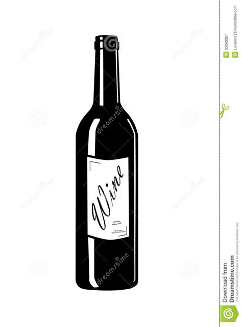 wine bottle svg wine bottle with label royalty free stock photography