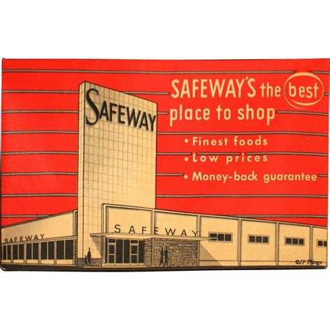 Giveaway Advertising - 1950s safeway sewing needle book advertising giveaway western germany from jpthings on