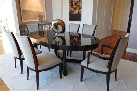 Barbara Barry Dining Room by Bellevue Towers Barbara Barry Inspired Penthouse