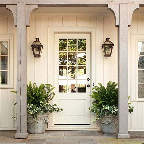 Outdoor Front Door Lights Exterior Lighting Charming Outdoor Lanterns The Inspired Room