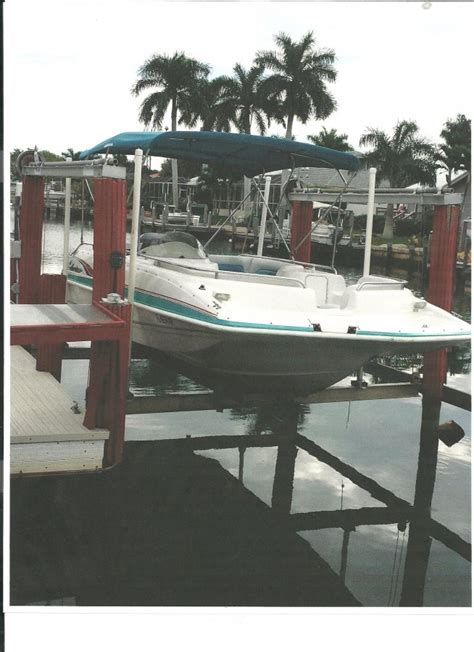 deck boats for sale marco island 1999 hurricane 21 ft deck boat florida 34145 marco