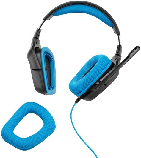 Headphone Logitech G430 logitech g430 surround sound gaming headset headphones