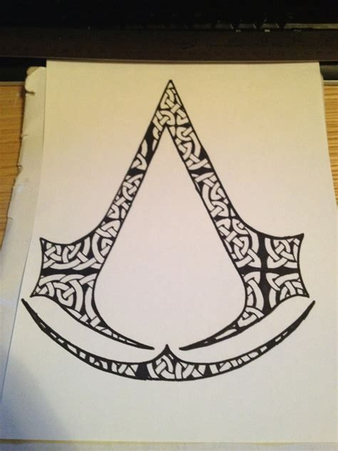 assassin tattoo designs tried to draw up a design for a friend the