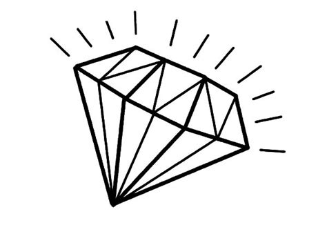 diamonds free coloring pages