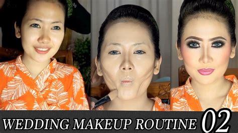 tutorial makeup pengantin ultima ii wmr02 makeup pengantin wedding makeup routine by ari