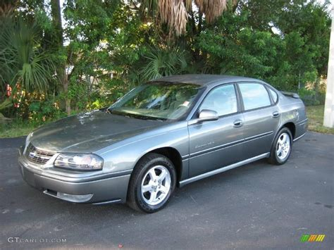 Gray Ls by 2004 Medium Gray Metallic Chevrolet Impala Ls 20451189