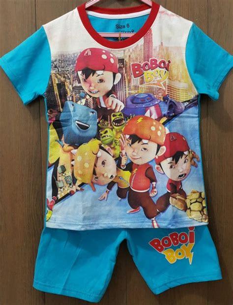 Kaos Printing Anak Kaos Boboiboy berbagai gambar kaos anak karakter grosiran murah